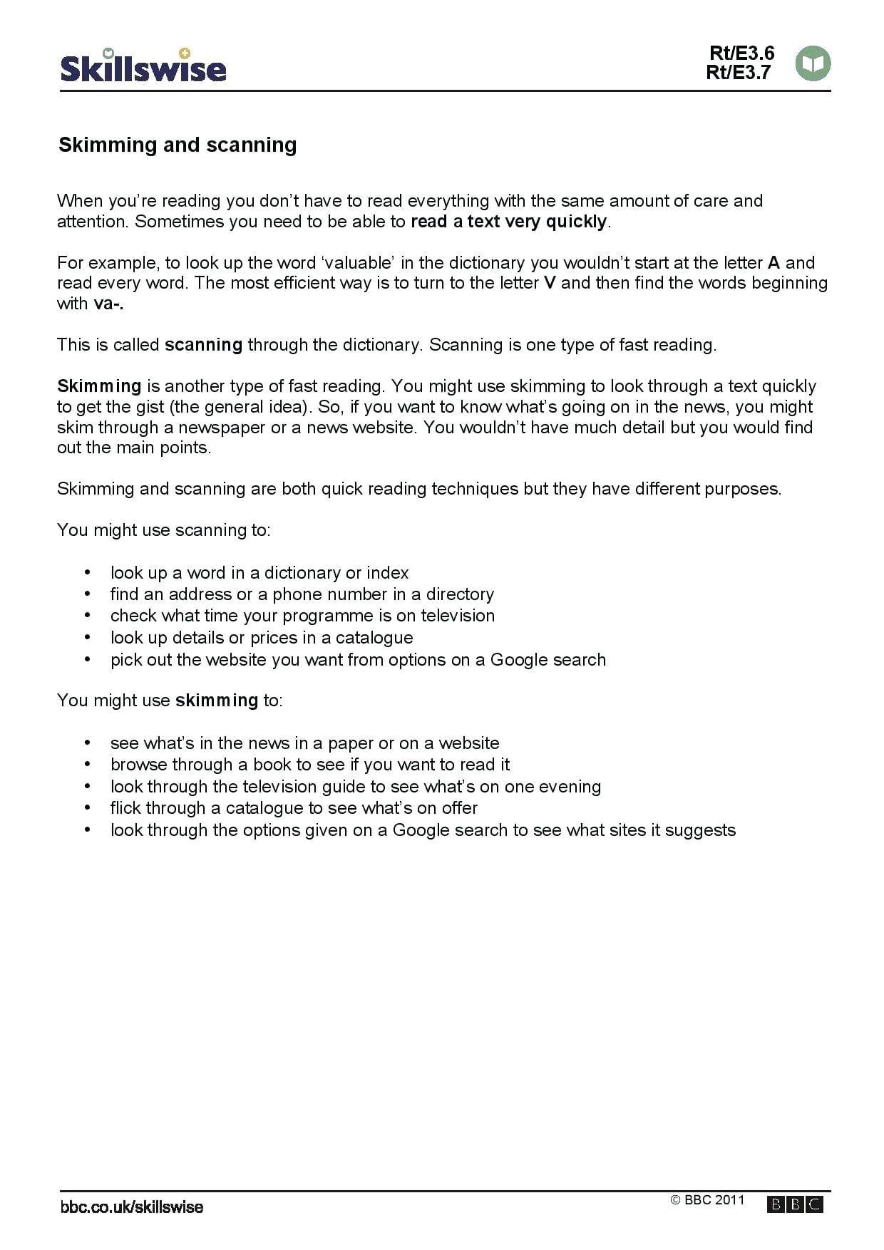 Free 4th Grade Reading Comprehension Worksheets
