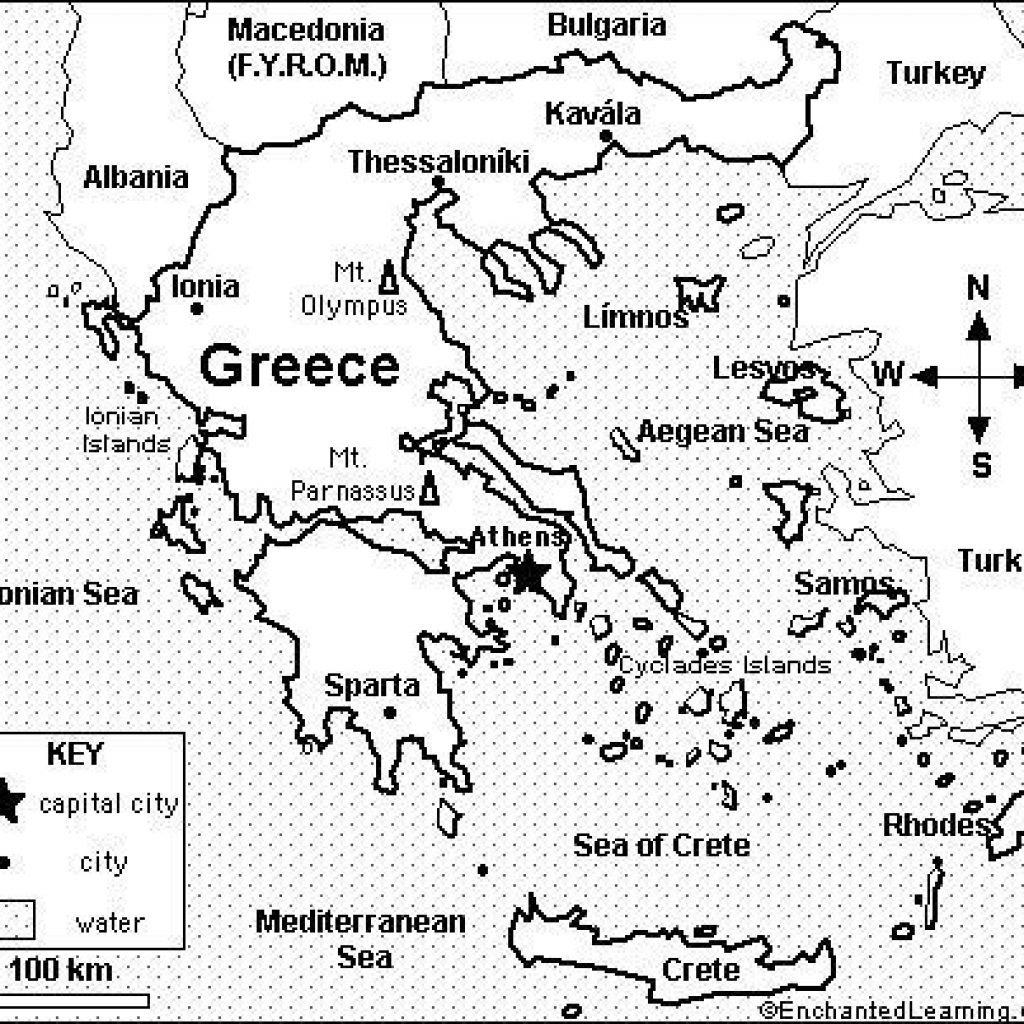 Ancient Greece Map Worksheet Db Excel