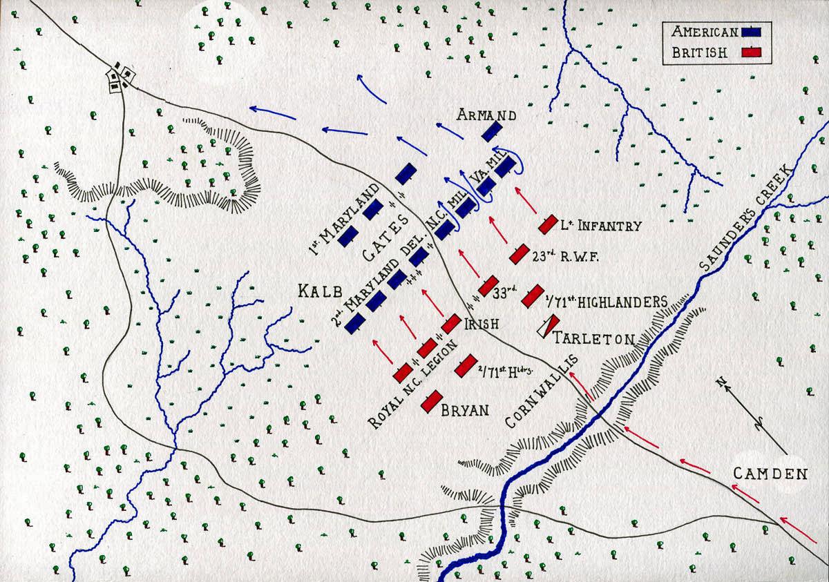 Revolutionary War Battles Map Worksheet