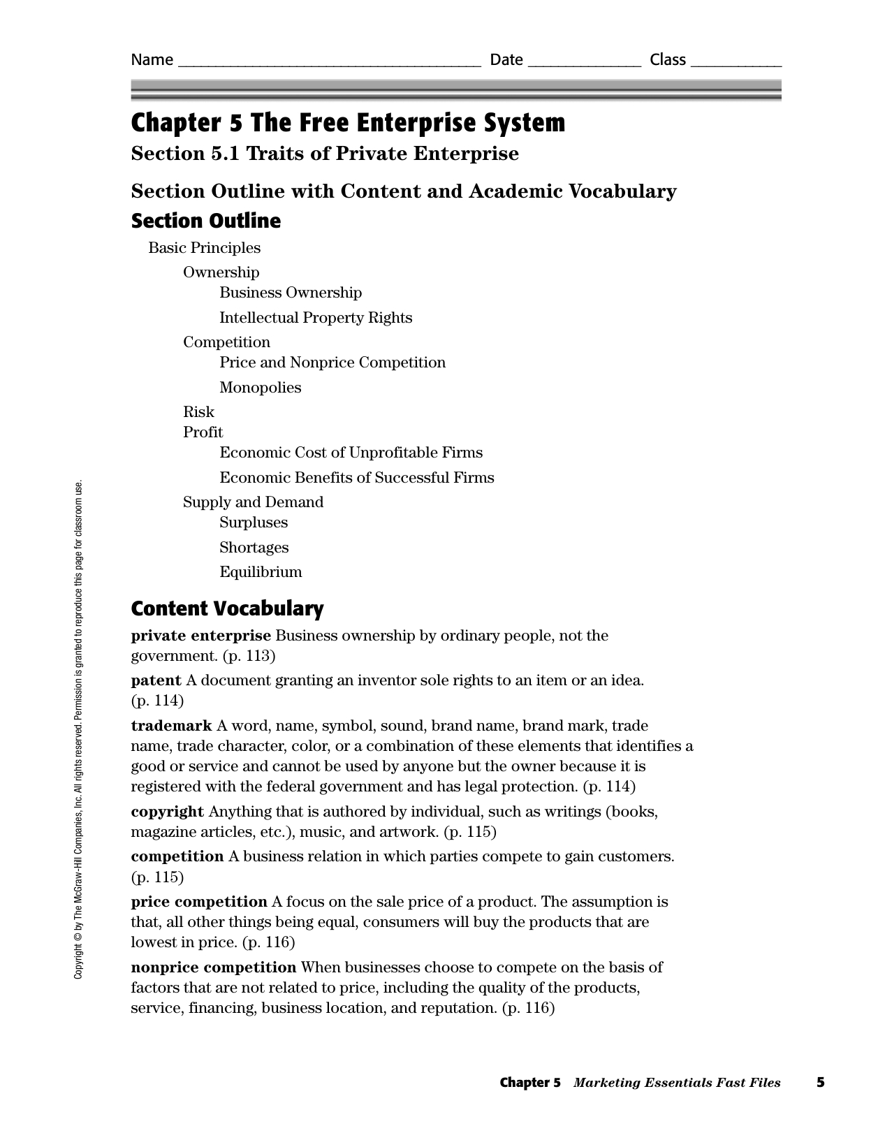 Chapter 5 Supply Economics Worksheet Answers