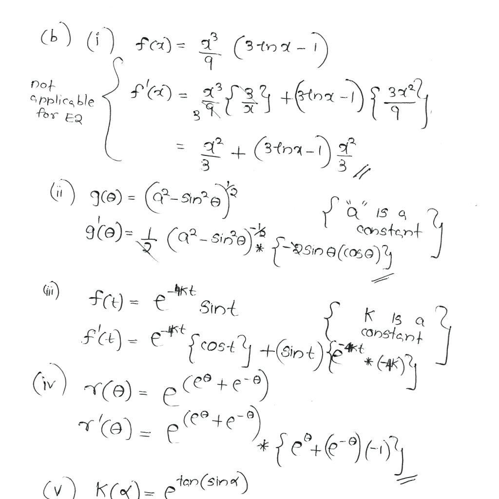 College Math Worksheets
