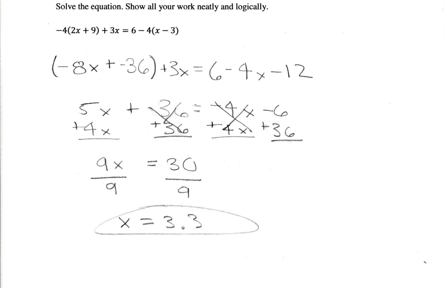 Distributive Property Worksheets 7th Grade