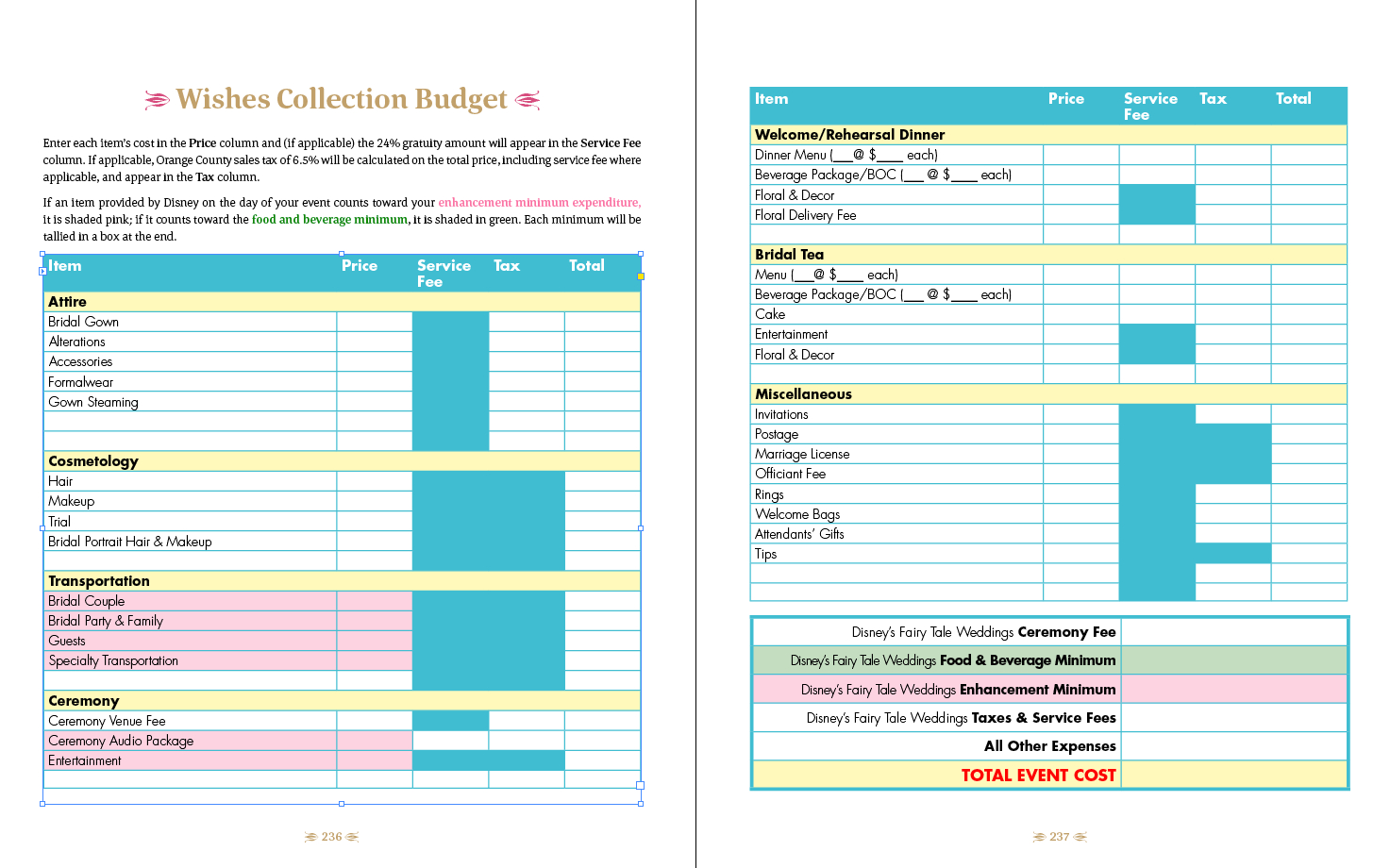 Cosmetology Tax Worksheet