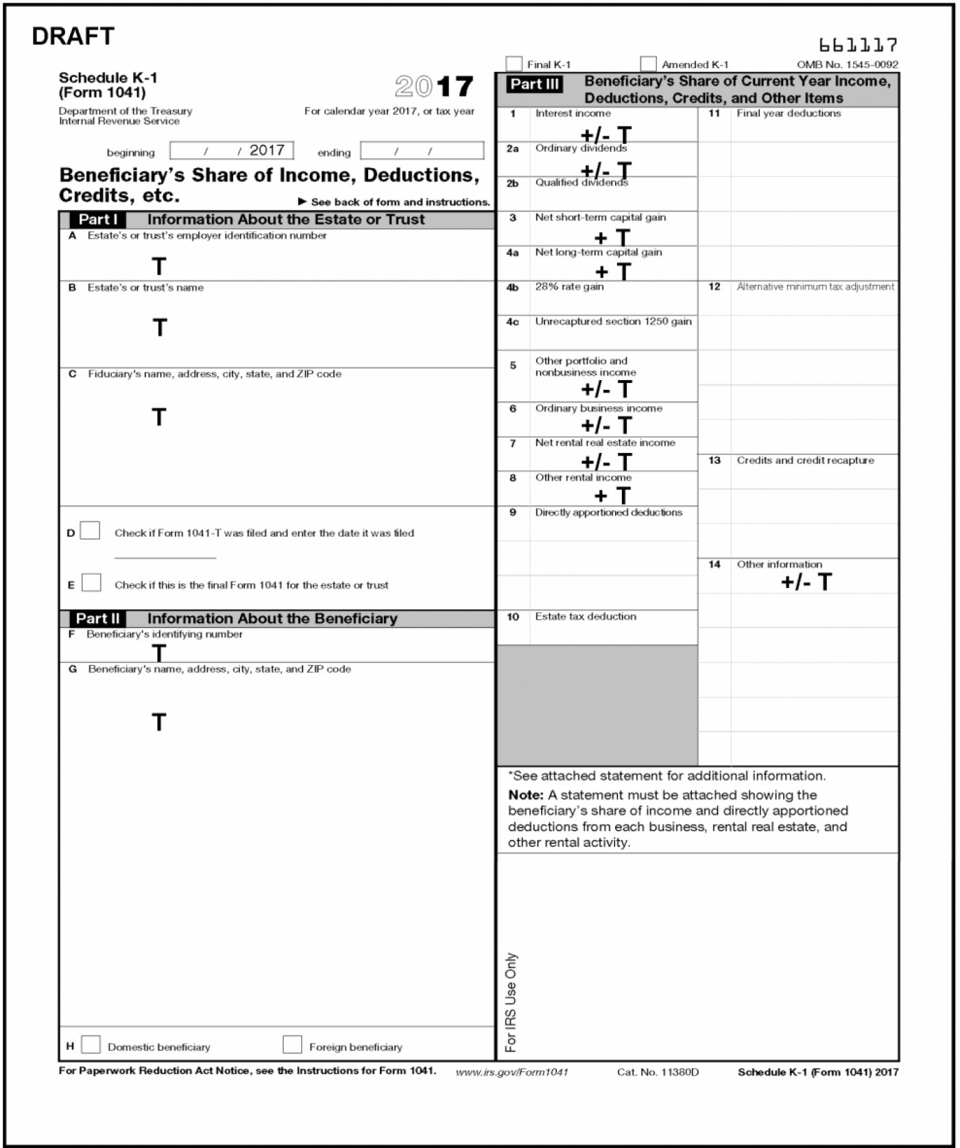 Federal Deposit Information Worksheet