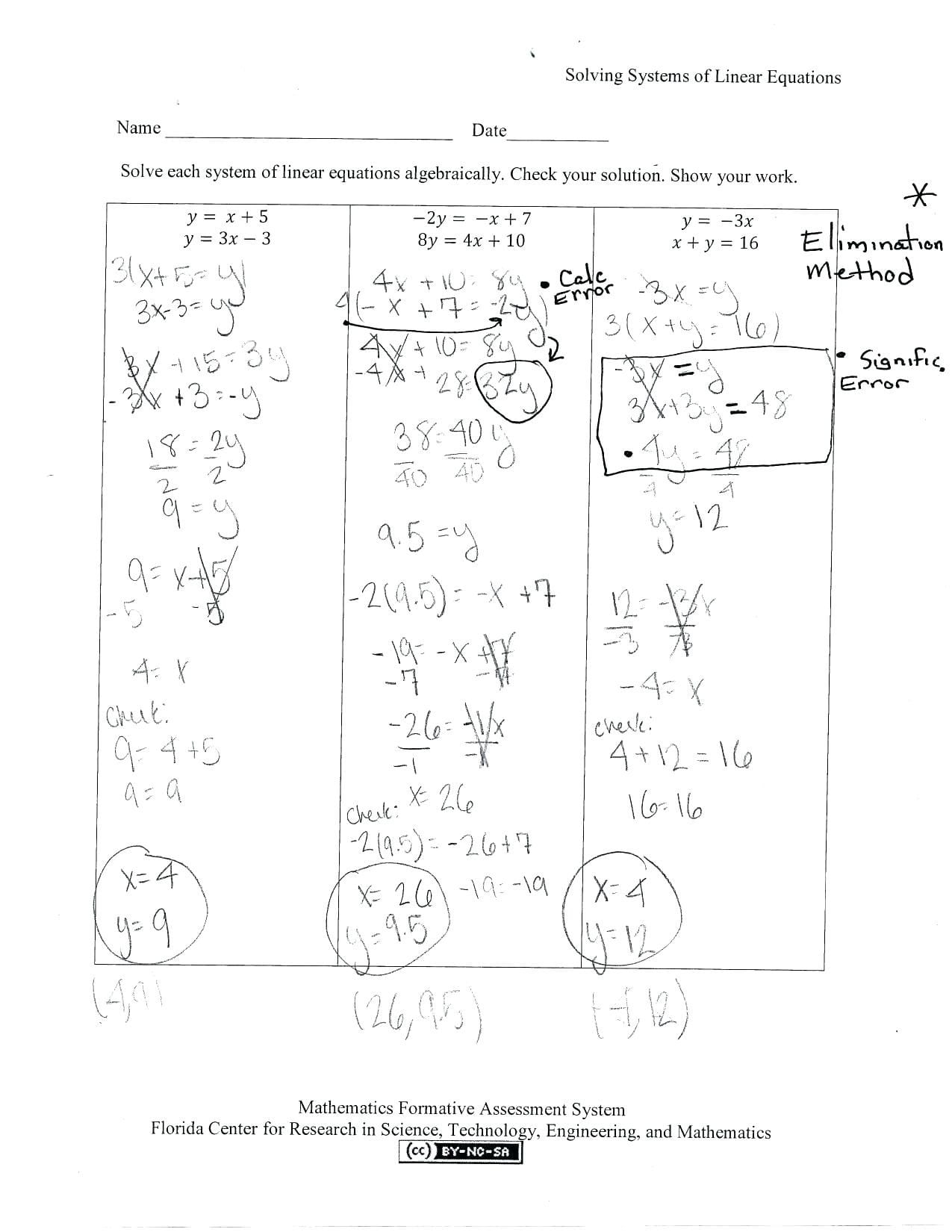 - No Solution Equations Worksheets Printable Worksheets And
