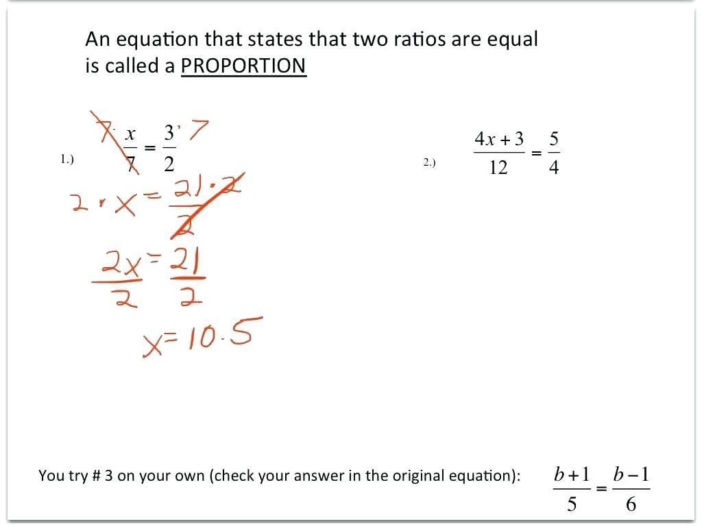 Geometric Proportions Worksheet Math Similar Shapes