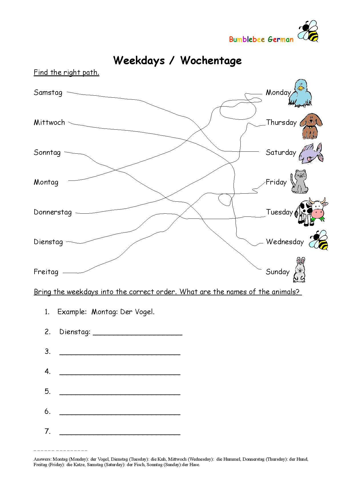 Graphic Stimulus Worksheets