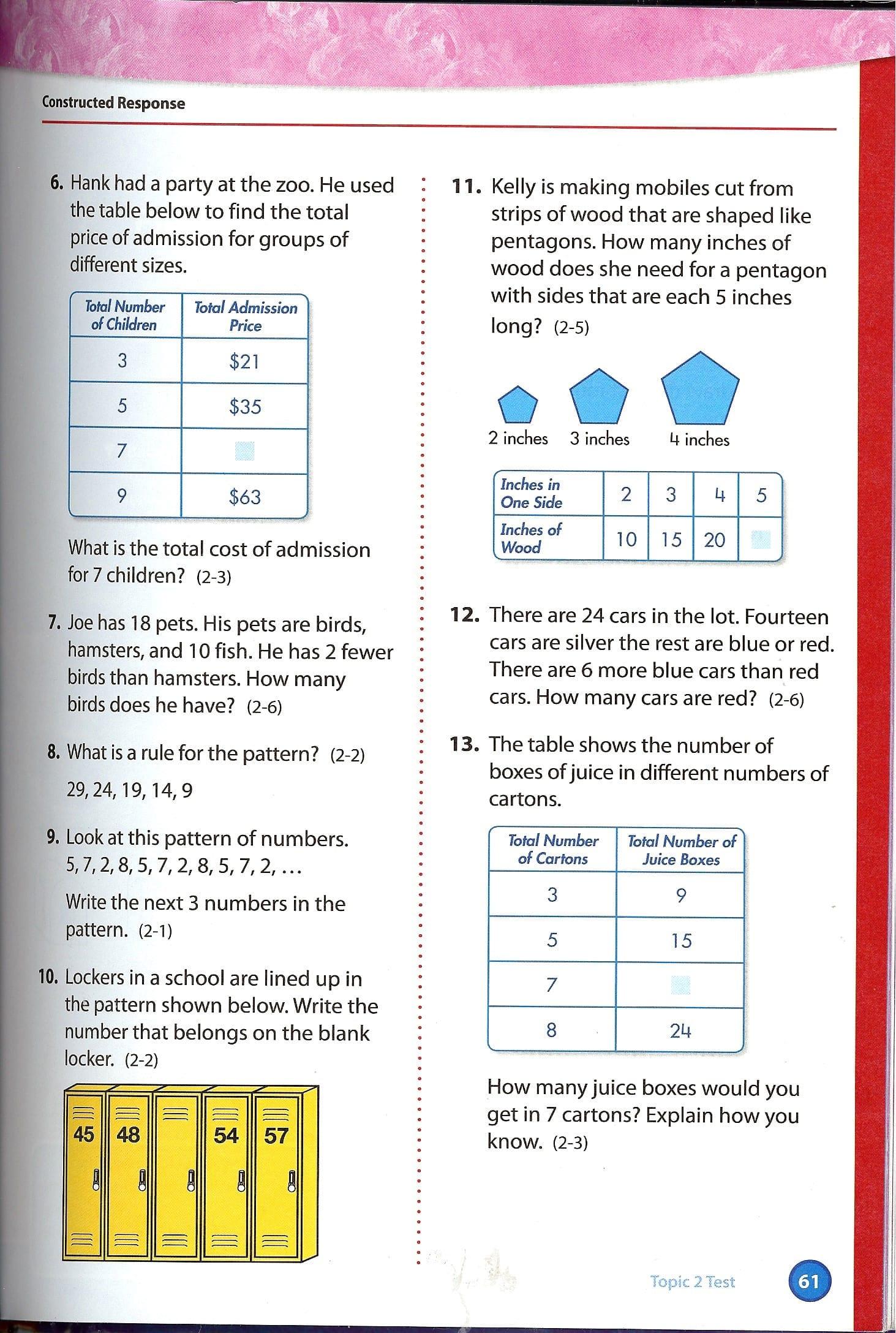 Houghton Mifflin 3rd Grade Math Worksheets Antihrap