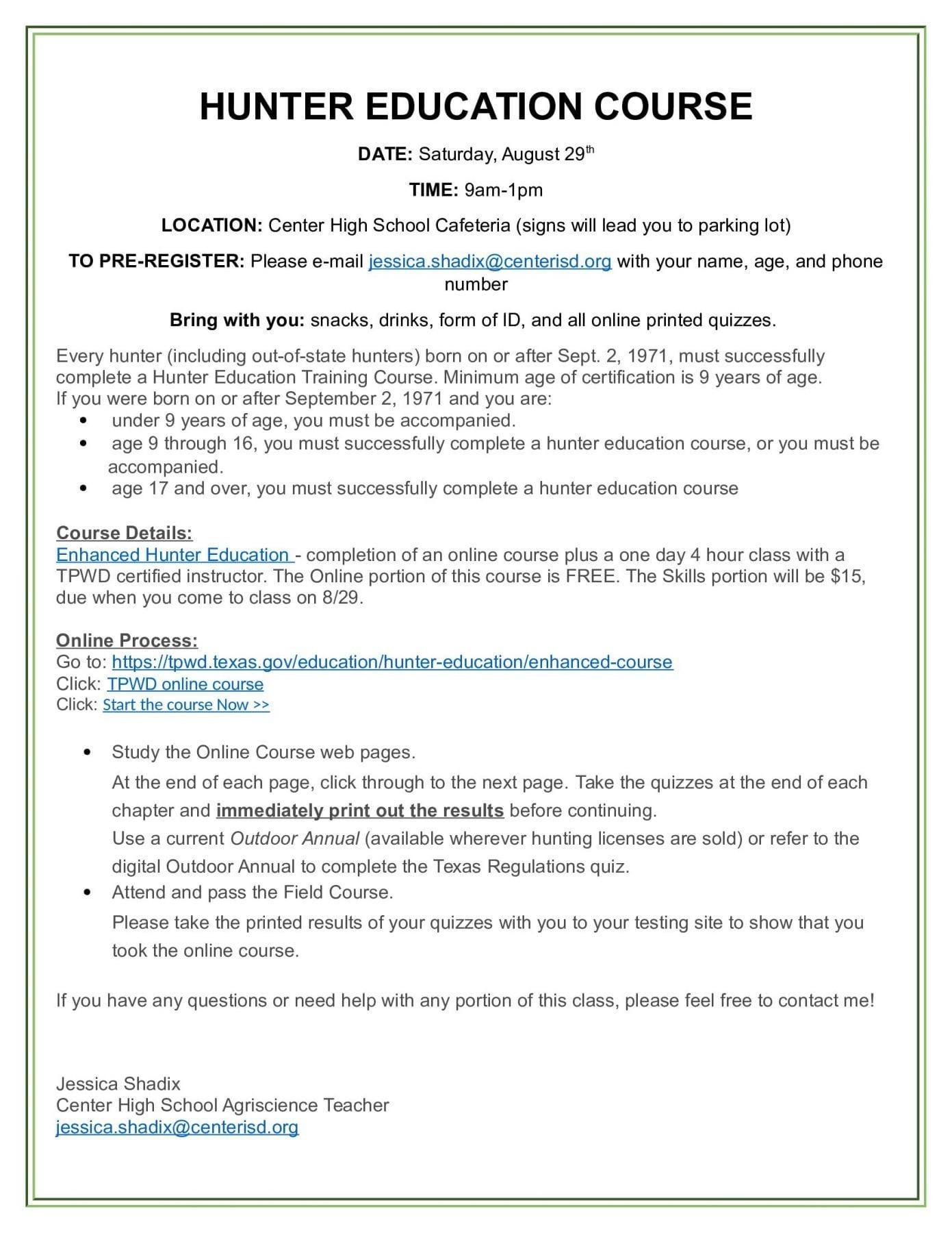 Hunter Education Homework Worksheet Answers Yooob
