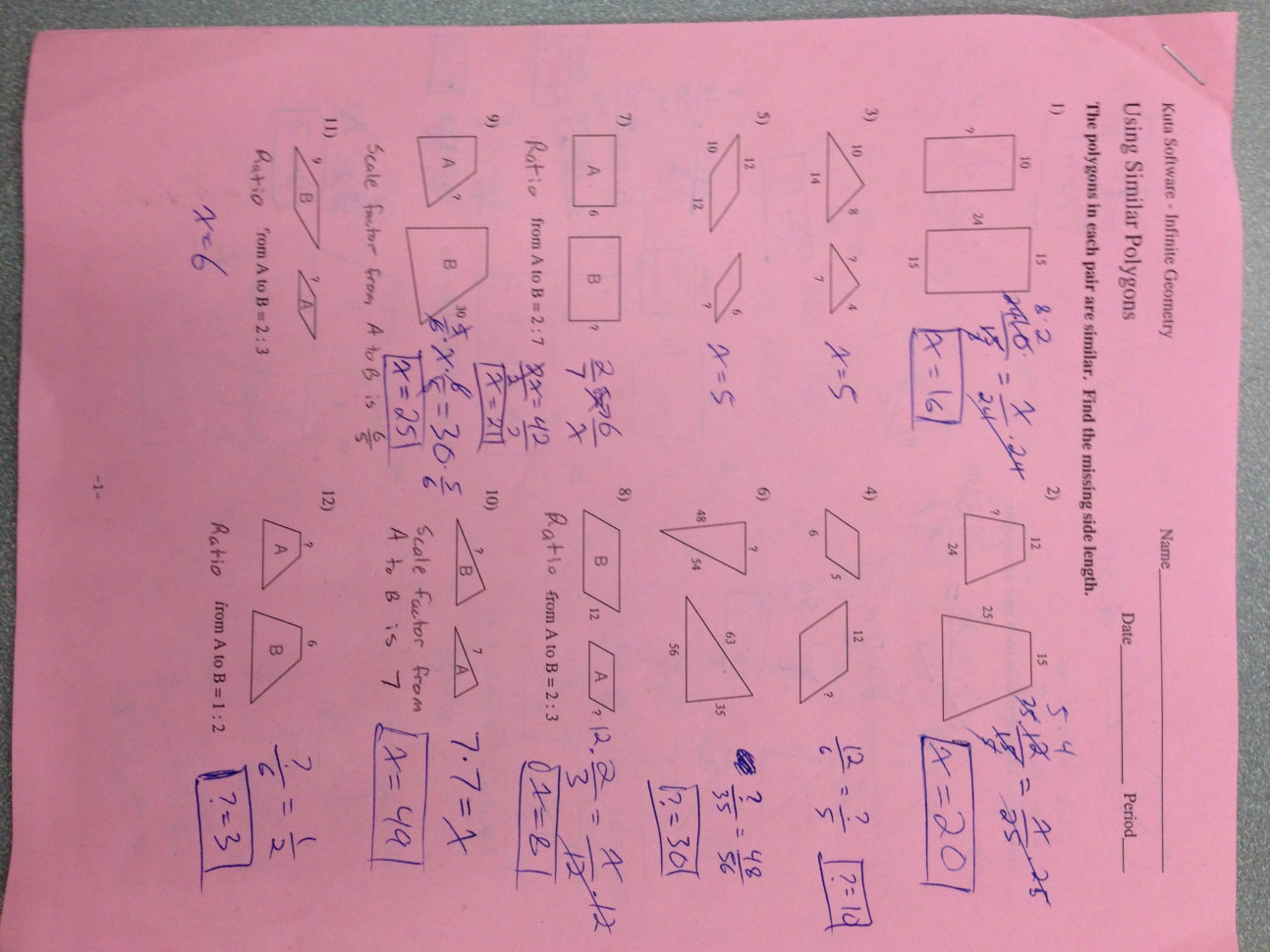 Hw 2 3 Worksheets All Answers Mr Zs School Blog