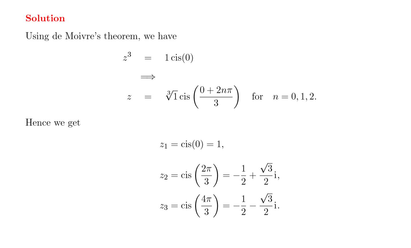 Imaginary Complex Numbers Practice Worksheet