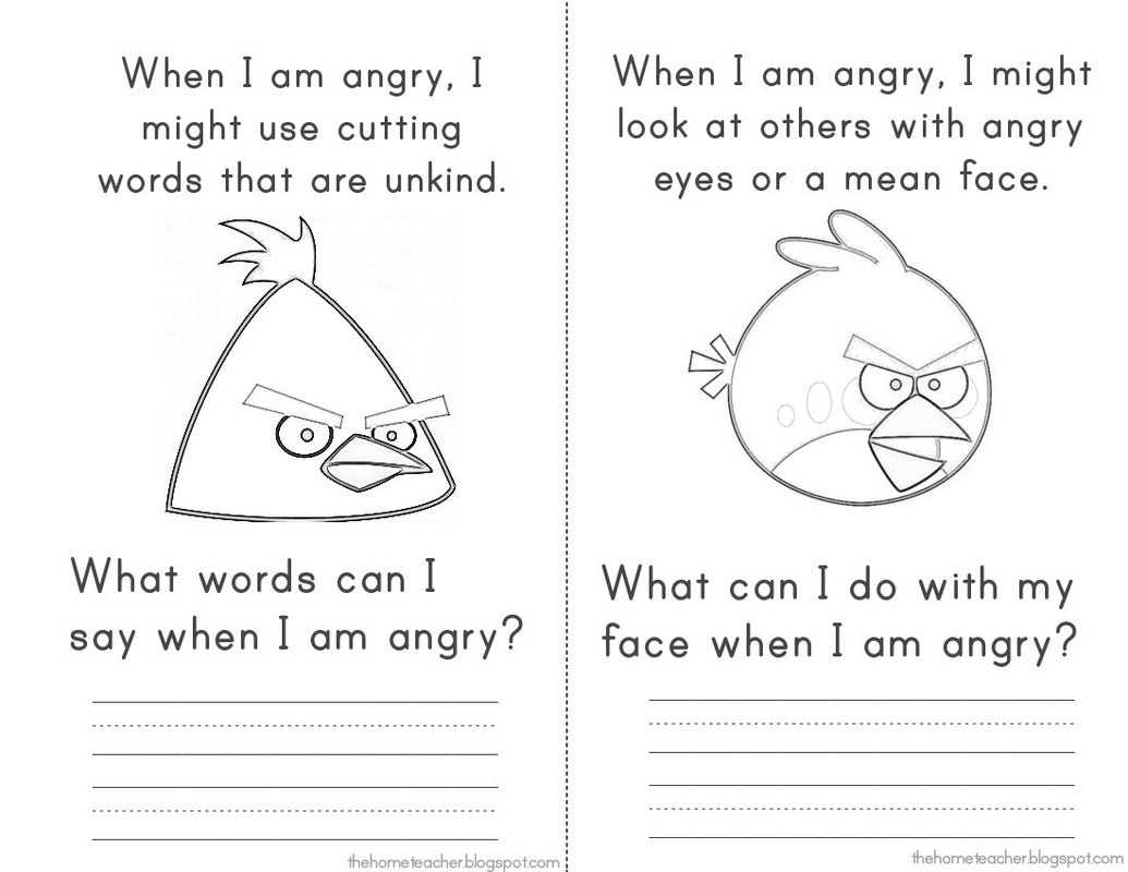 Identifying And Expressing Feelings Elementary School