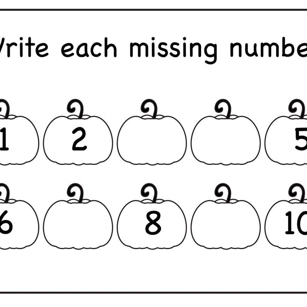 Kindergarten Worksheets Tracing Numbers 1 10 With Elegant