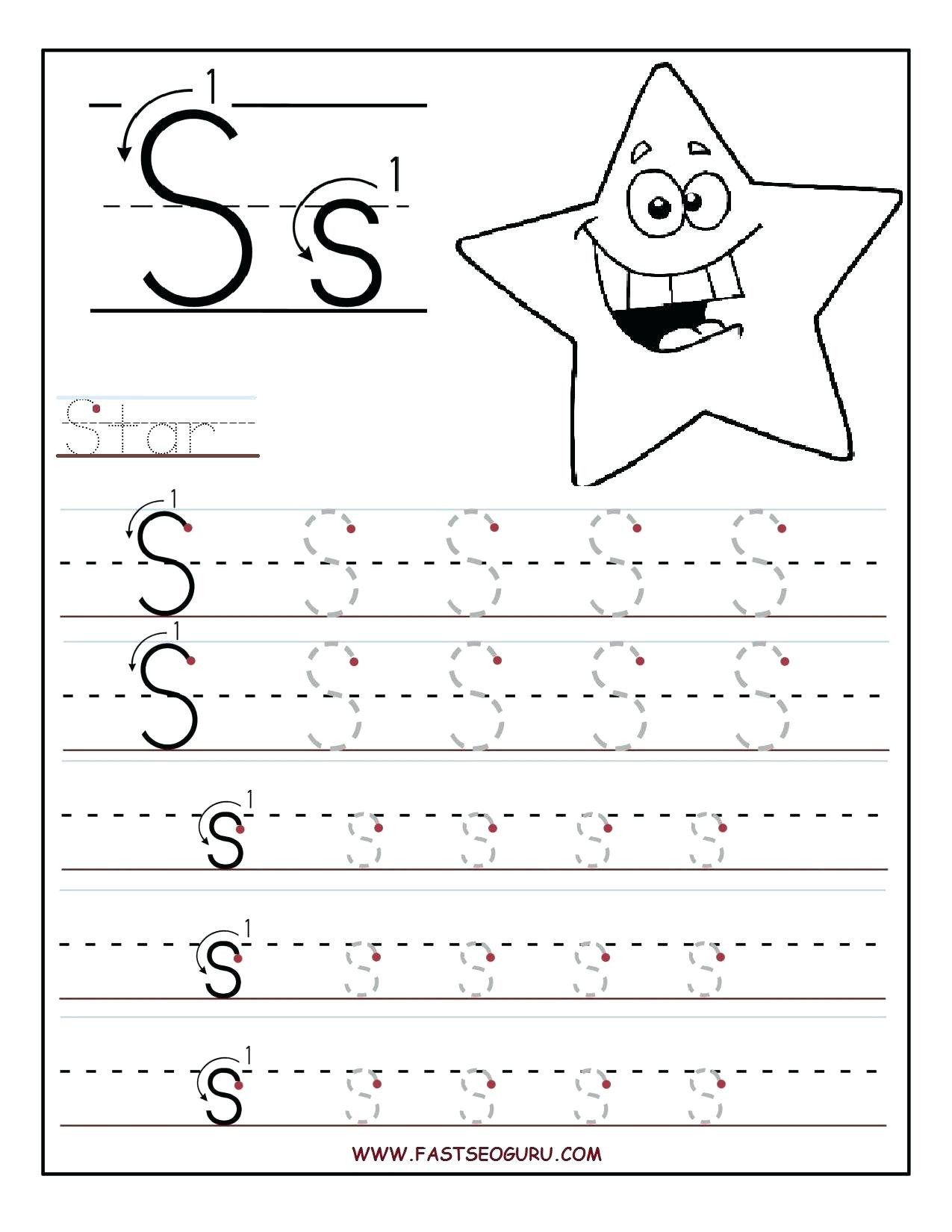 Tracing Worksheets For 3 Year Olds
