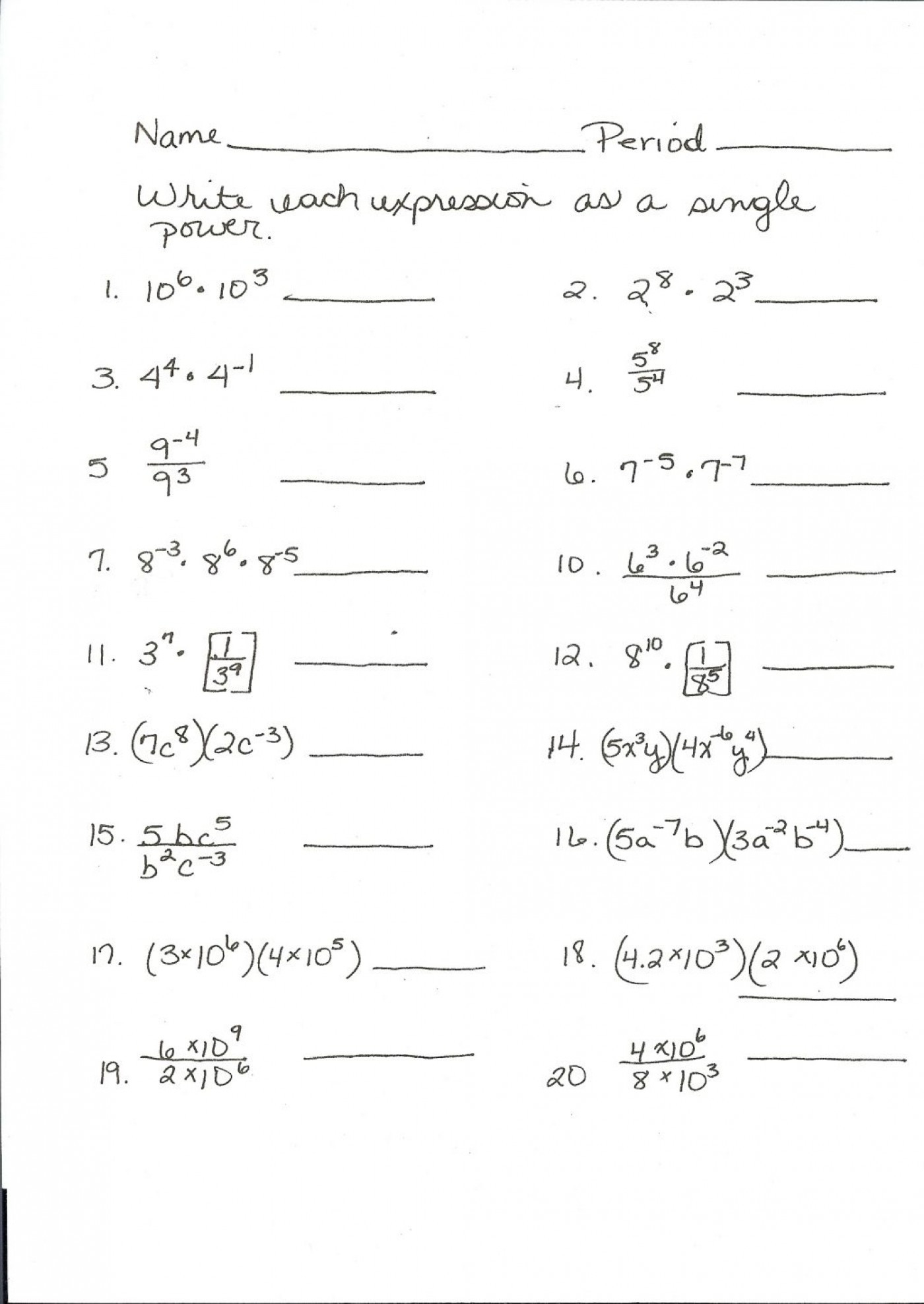 3rd Grade Math Staar Test Practice Worksheets