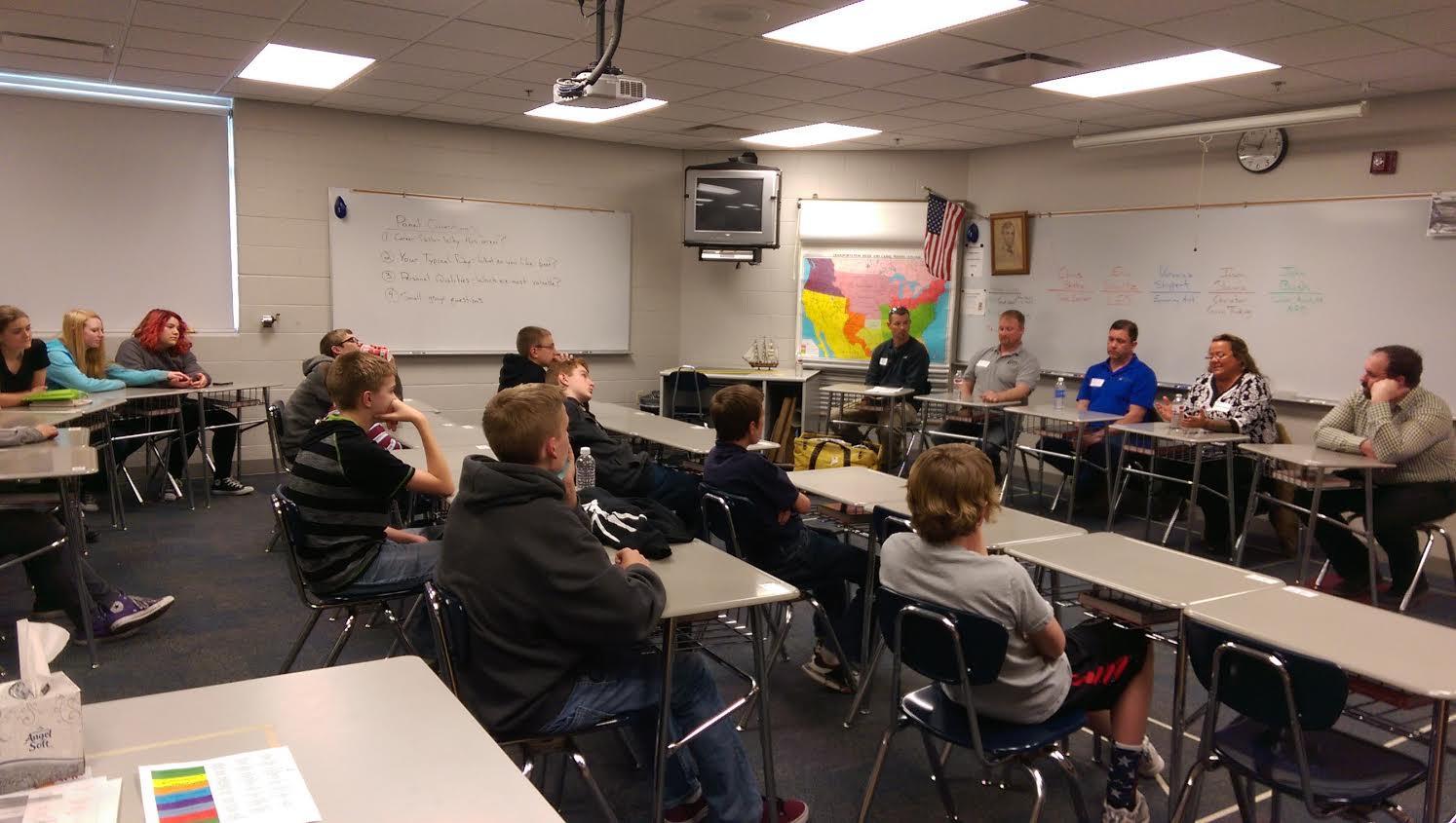 Middle School Hosts Career Day Norris School District