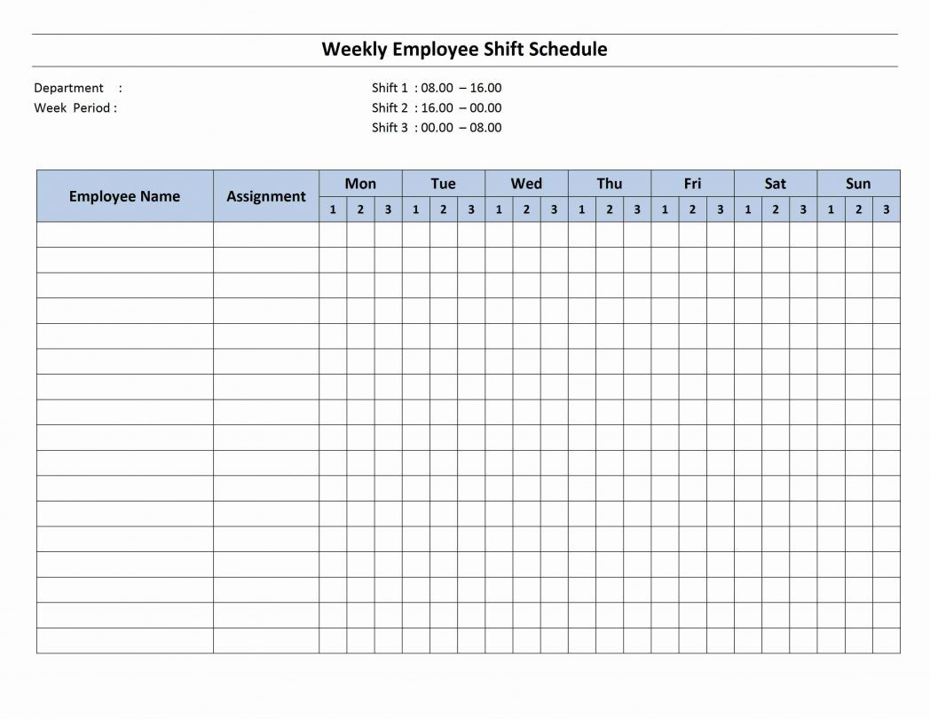 My Weekly Schedule Time Management Worksheet For