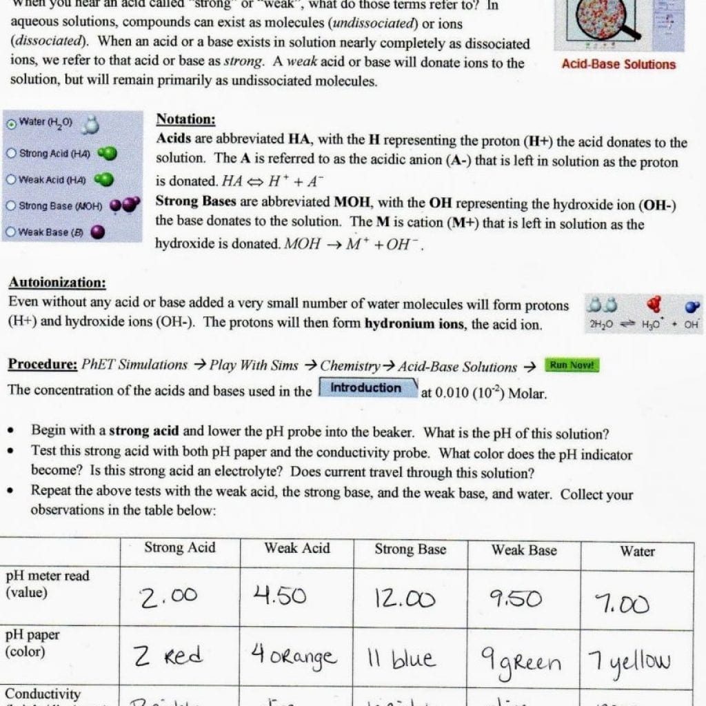 Phet Isotopes And Atomic Mass Worksheet Answer Key
