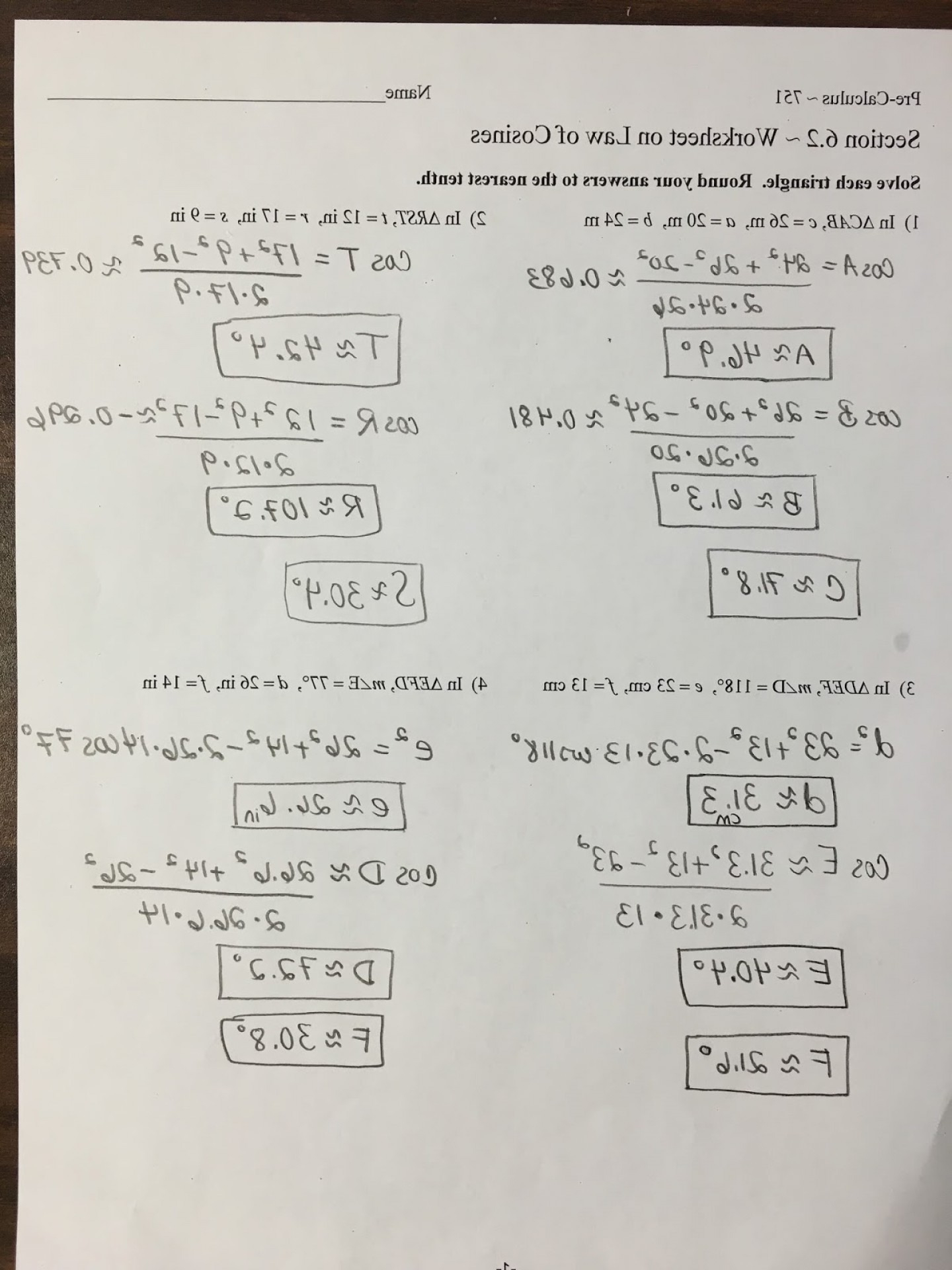Precalculus Vectors Worksheet Savoyuptown