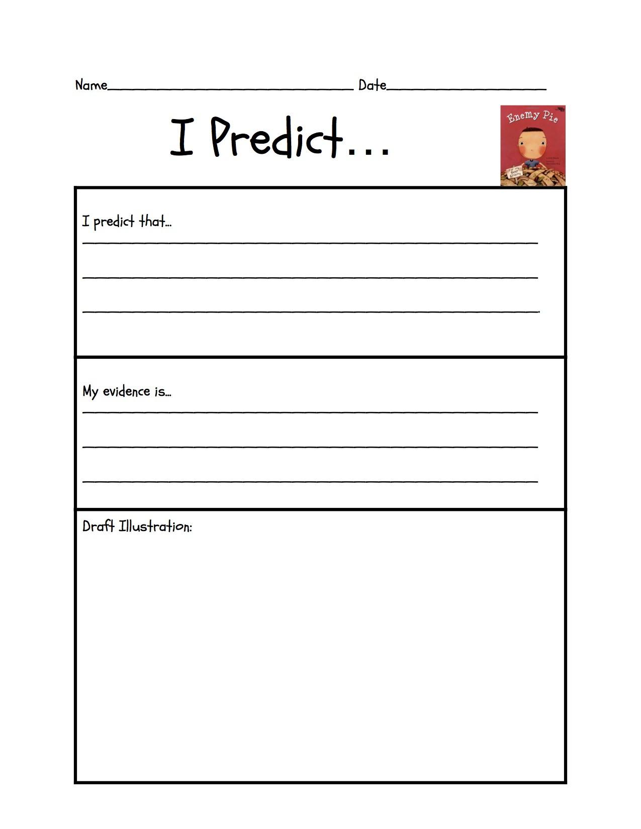 Enemy Pie Printable Worksheet Db Excel