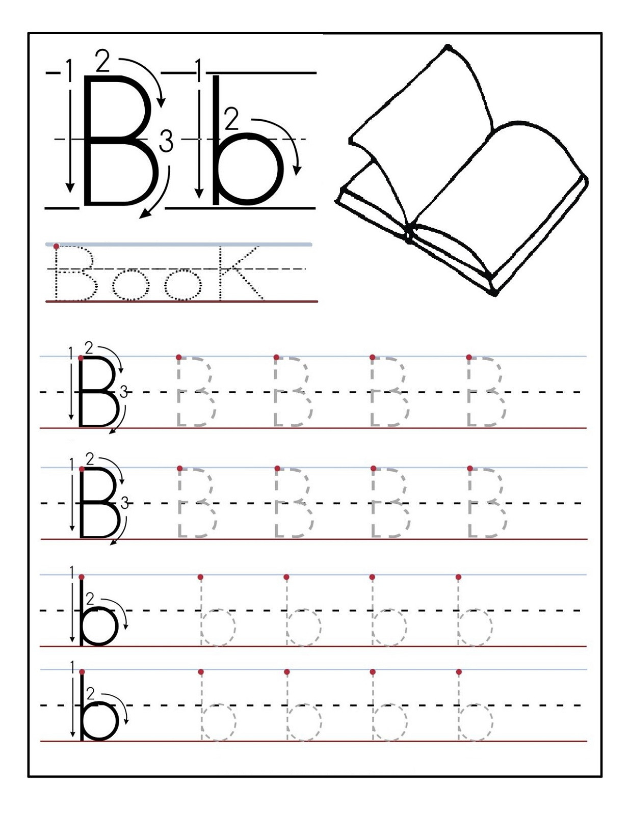 Preschool Worksheets Alphabet