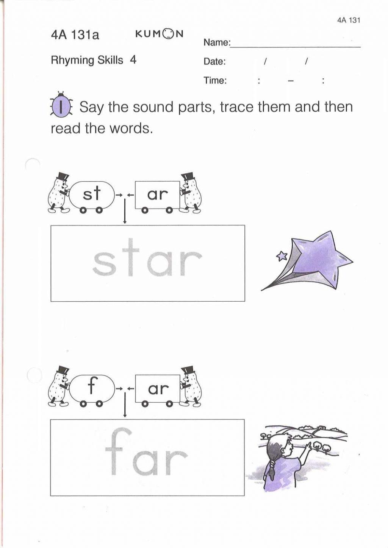 Sample Kumon Math Worksheets Report S Rohanspong