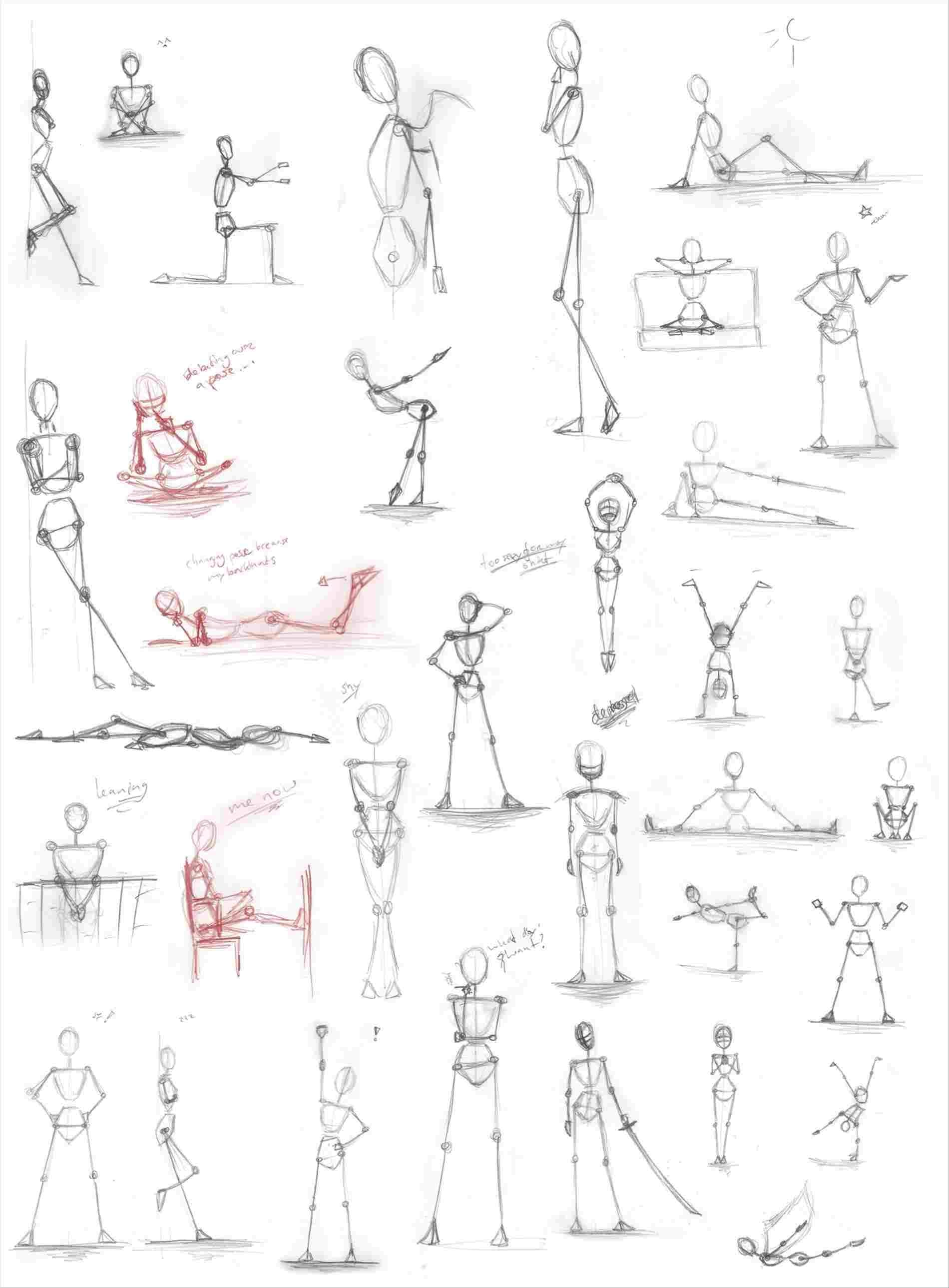 Figure Drawing Proportions Worksheet