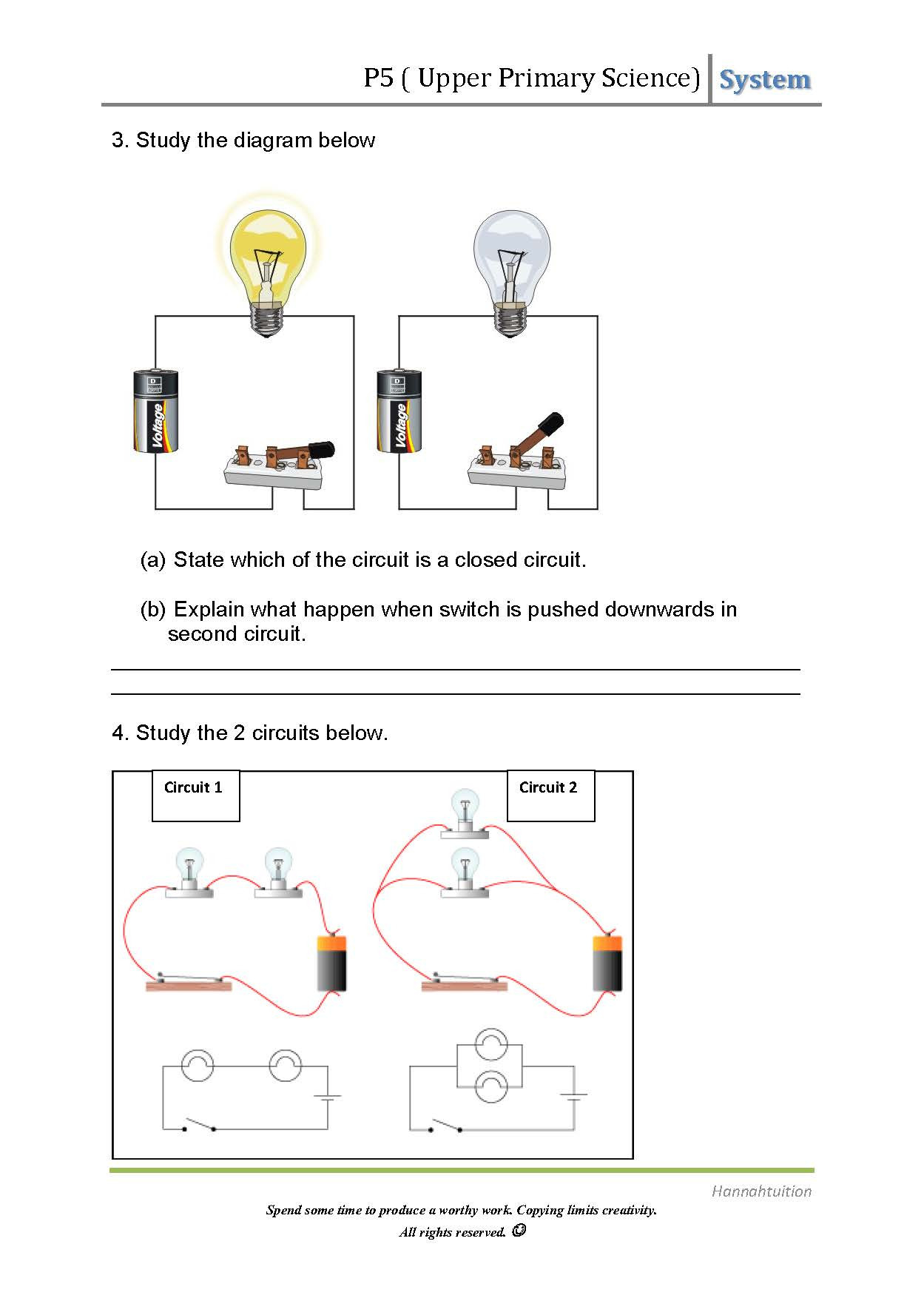 Simple Electrical Circuit Diagram Wiring Diagrams Schema