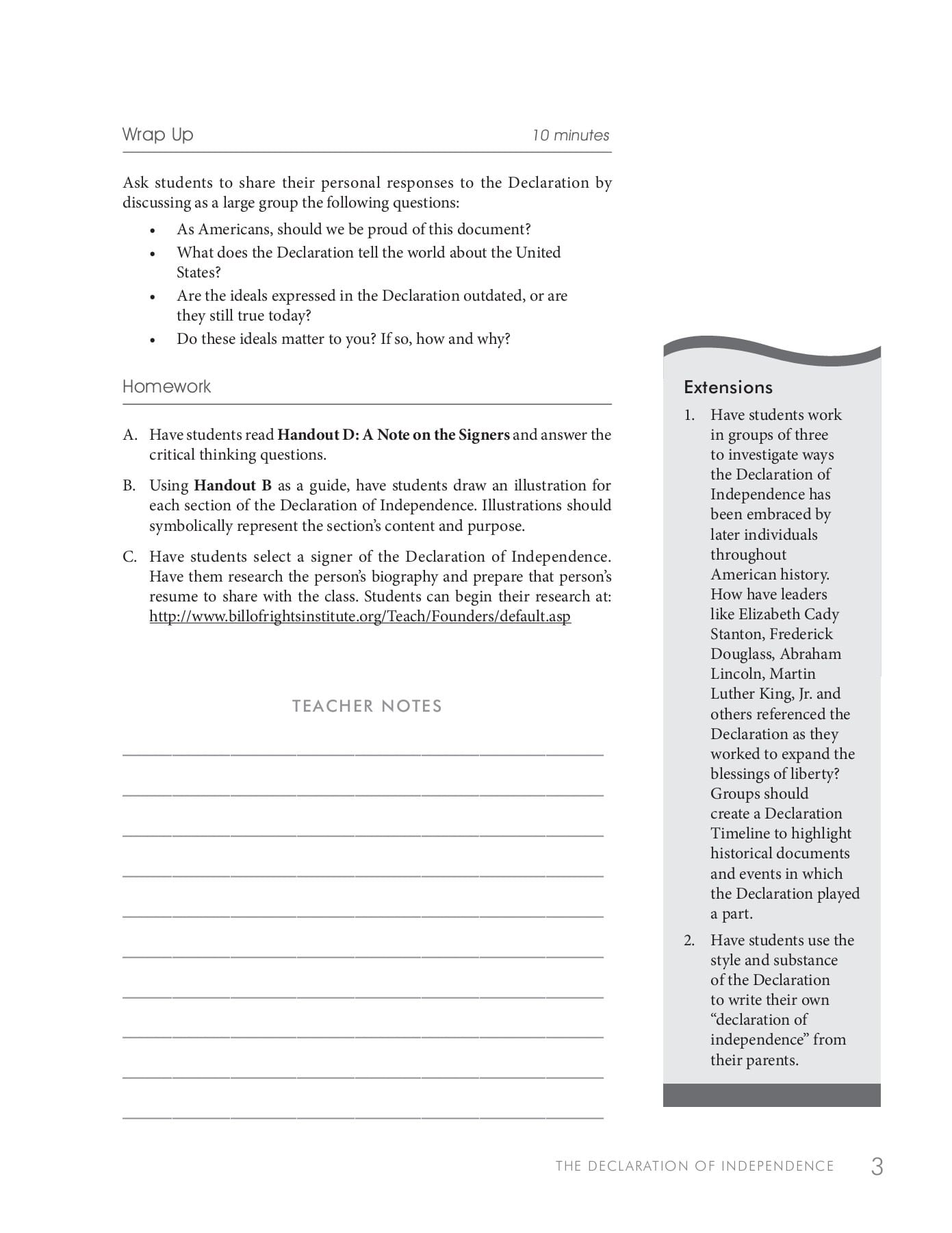 Six Big Ideas In The Constitution Worksheet Answers