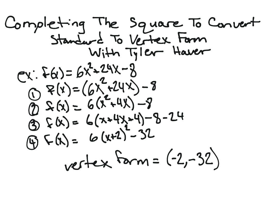 Standard Form Equation Of A Circle Worksheet Answers