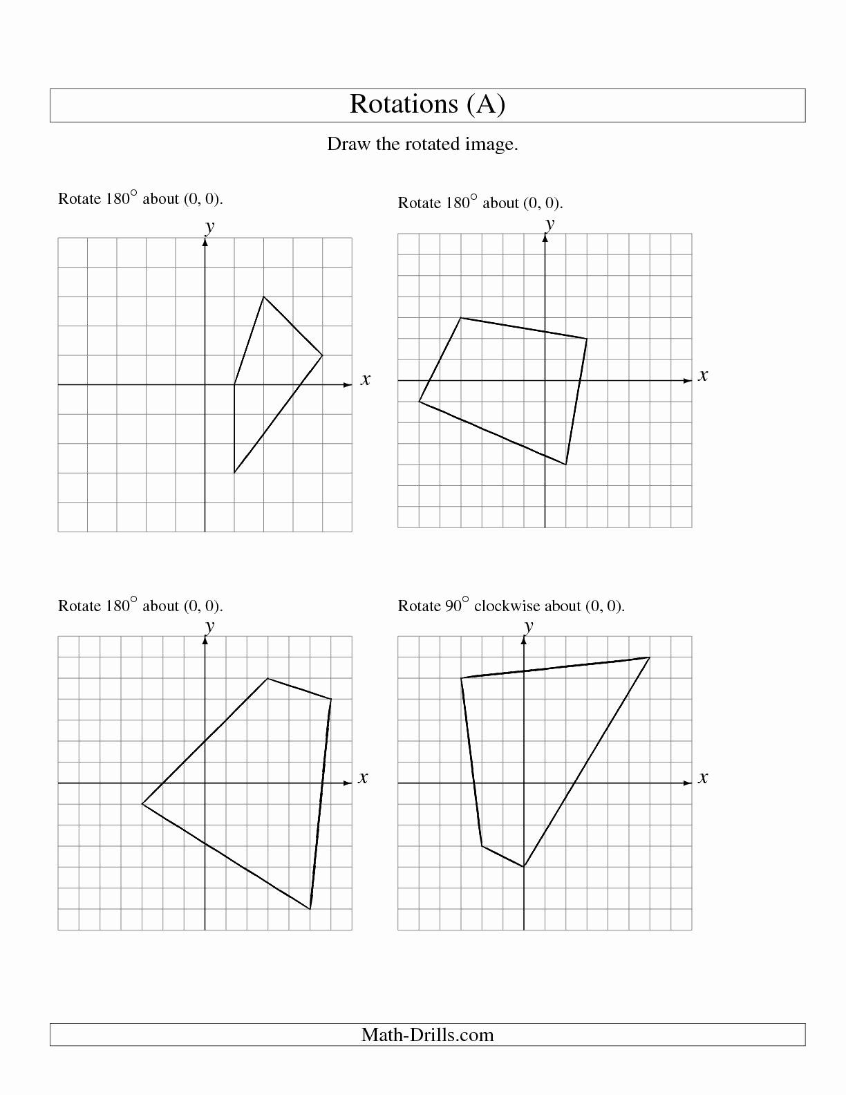 Multiple Transformations Worksheet