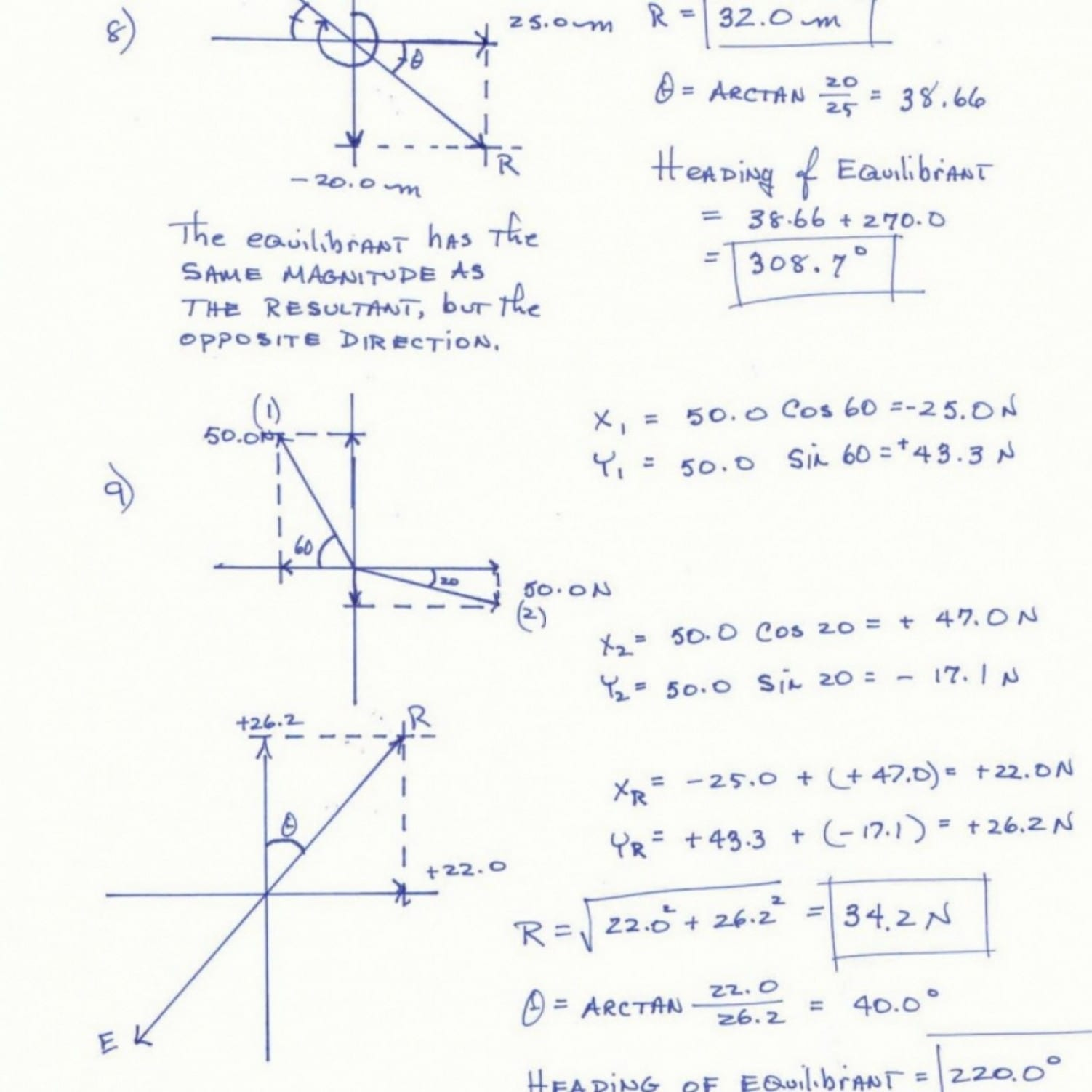 Vector Addition Worksheet With Answers Concept Of