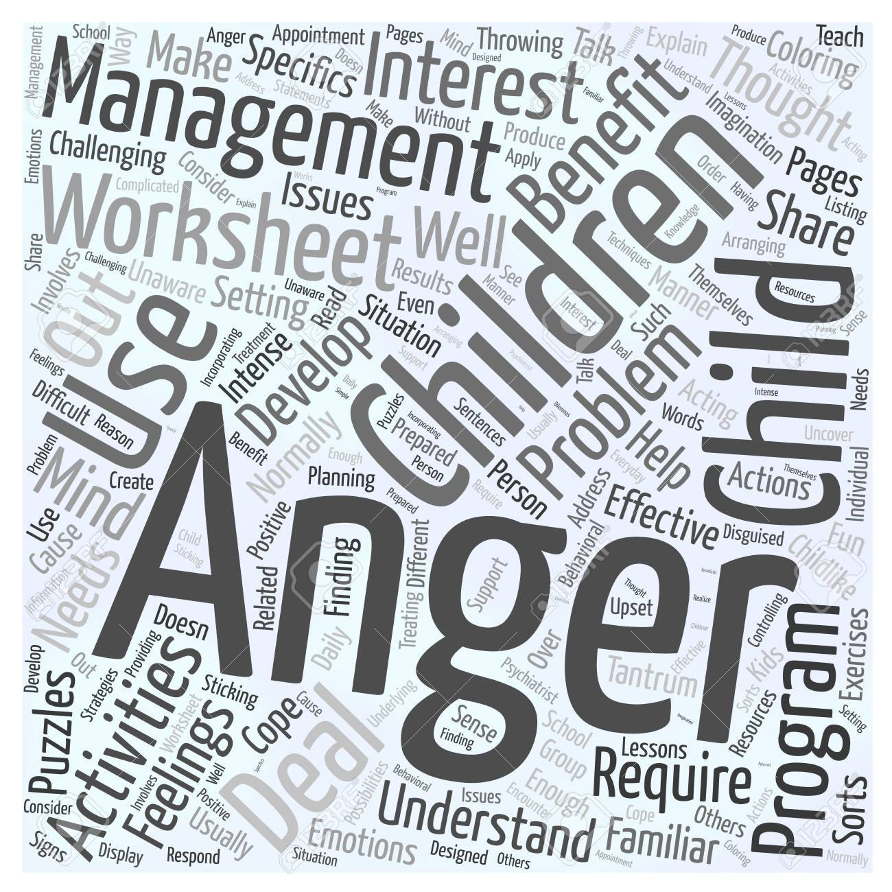 Why Children May Benefit From Anger Management Worksheets