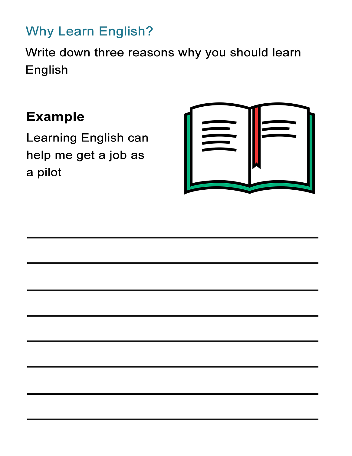 Learning English Worksheets