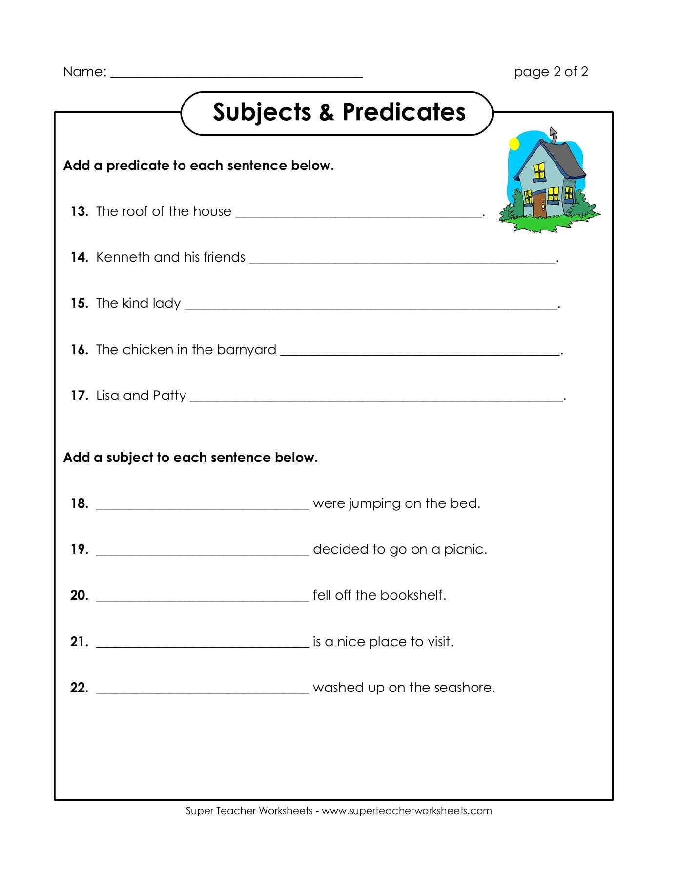 Super Teacher Worksheets Reading Comprehension