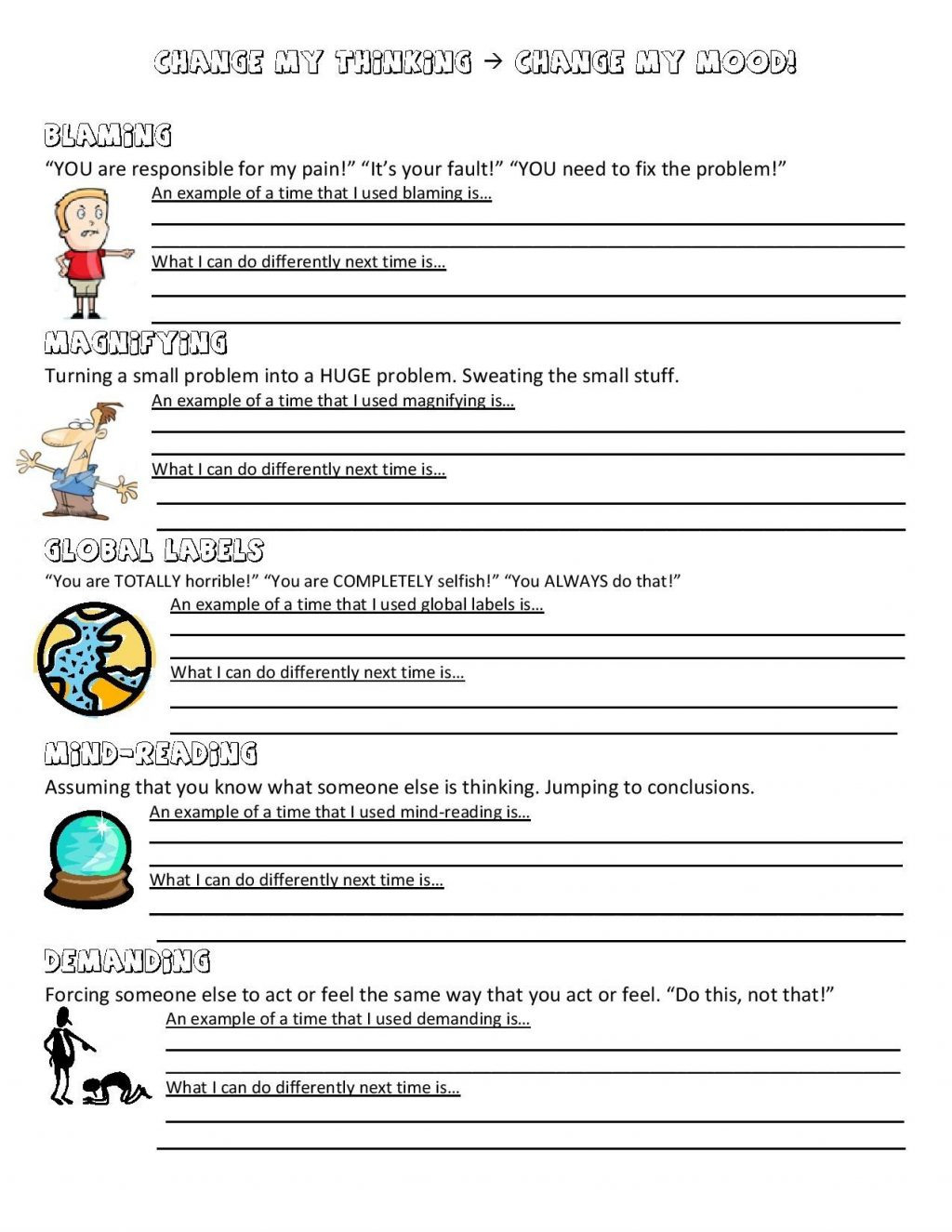 Worksheet Ideas Conflict Resolution For Teenagers