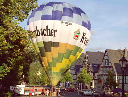 hot air ballonteam kassel # 72