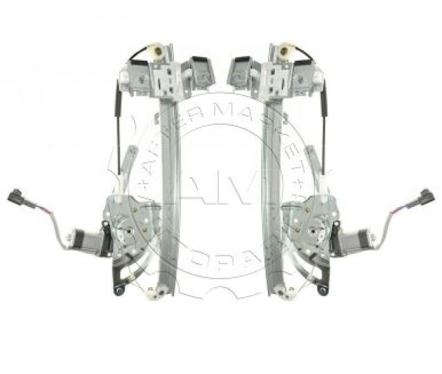 2000 05 Pontiac Bonneville Window Regulator Pair Am 67815005 At Am Autoparts