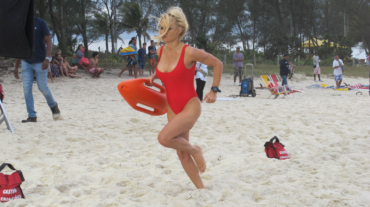 Image result for Pamela anderson baywatch running on beach