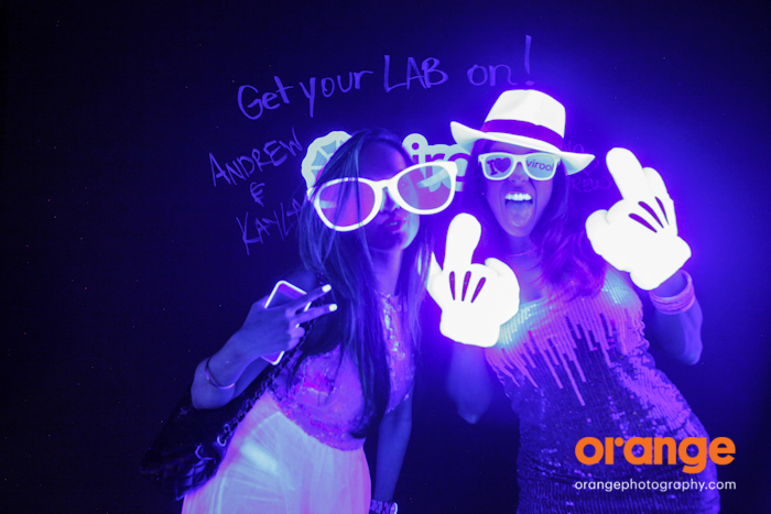 virool black light photobooth