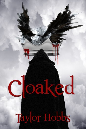 Cloaked book cover