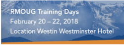 RMOUG Training Days 2018