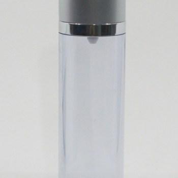 ขวดปั้มสูญญากาศ ลายเงิน db28 (50ml) silver