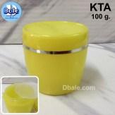 กระปุกครีมพลาสติก 100 กรัม KTA
