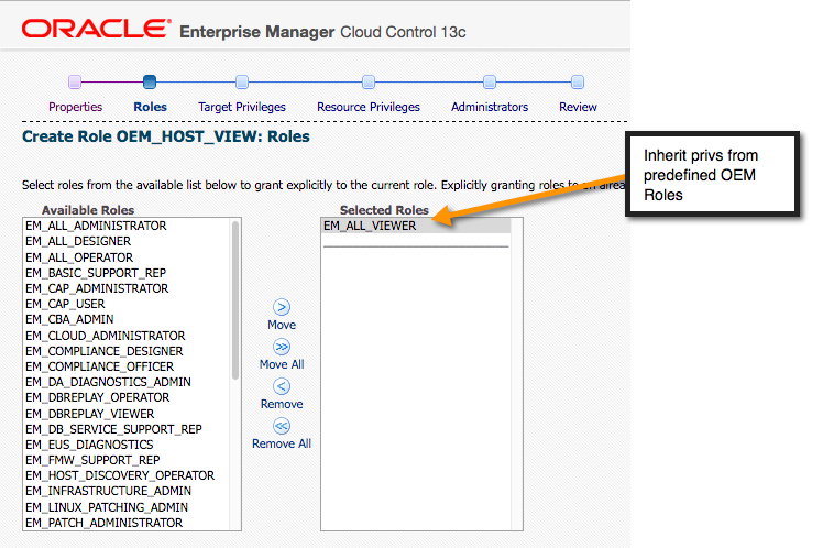 OEM13c Roles and AD Groups - dbaonTap