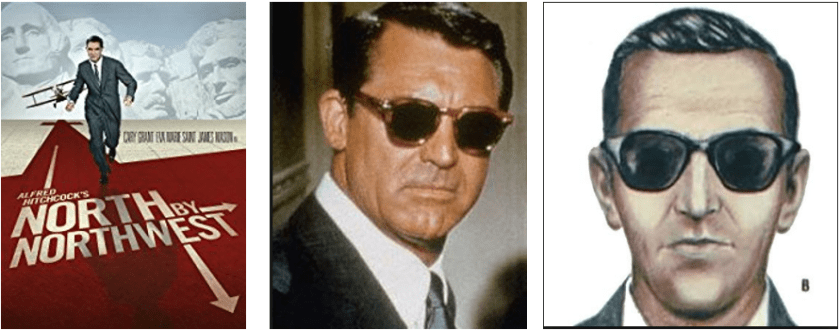 North by Northwest DB Cooper 3 pack