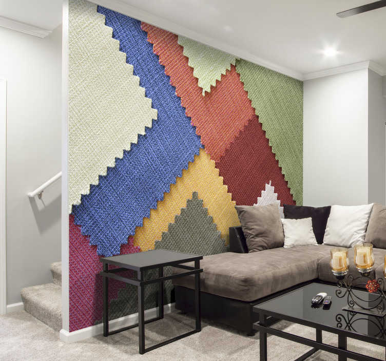 textiles 3d papier peint mural