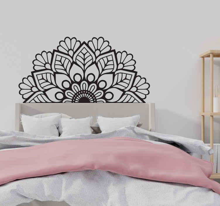 Scegli tra tantissimi prodotti in offerta, scontati e con consegna rapida. Adesivo Murale Testata Letto Testiera Mandala Tenstickers