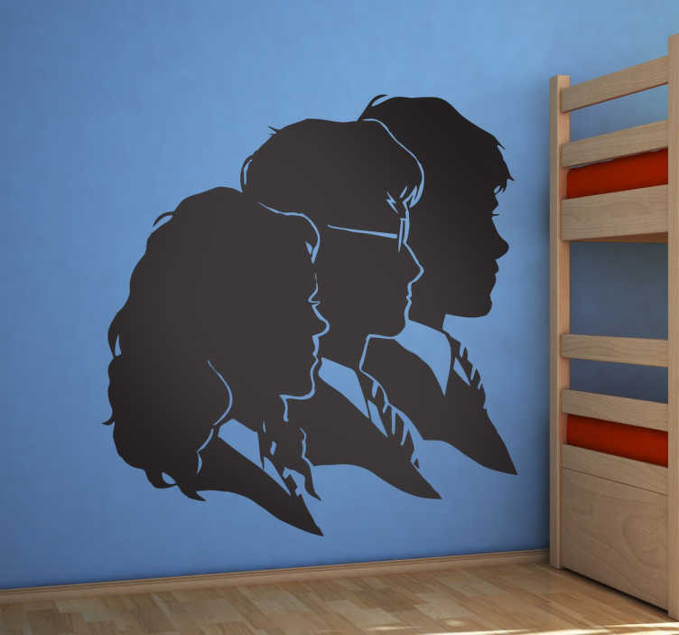 sticker silhouettes harry potter