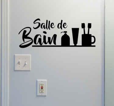 stickers salle de bain notre catalogue